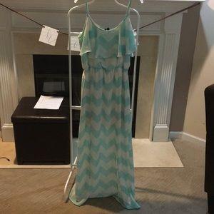HeartSoul Dresses - Chevron pattern maxi dress
